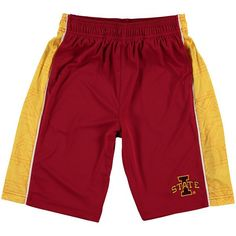 Iowa State Cyclones Youth Break Point Shorts - Cardinal - $20.99