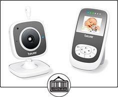 Beurer BY-77 - Vigila bebés, modo ECO+ con video, color blanco y gris + Termometro digital de regalo  ✿ Vigilabebés - Seguridad ✿ ▬► Ver oferta: http://comprar.io/goto/B06WRTRZRQ