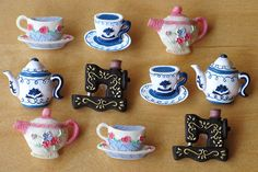 tea buttons