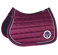 The Rich Eskadron Classic Collection Sangria Glossy Dressage Saddle Cloth
