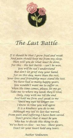 The last battle !