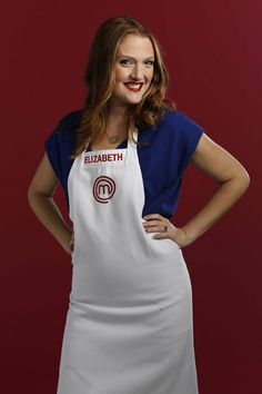 Elizabeth Cauvel...my former student.  On Season 5, Master Chef.