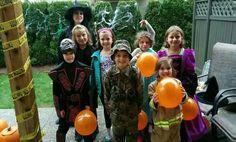 Kids 2015 Halloween party