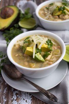 Creamy Mexican Chicken Chili Soup Recipe