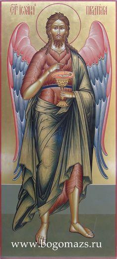 Галерея икон страница 7 Prophetic Art, Byzantine Art, Orthodox Christianity, Last Supper, John The Baptist, Religious Art, Disney Characters, Fictional Characters, Saints