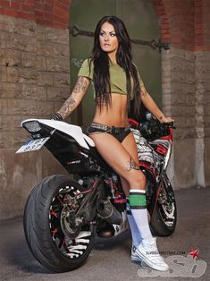 Tattoos and bikes