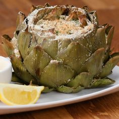 Garlic Parmesan-Stuffed Artichokes It's the new chips and dip. Vegetable Recipes, Vegetarian Recipes, Cooking Recipes, Healthy Recipes, Cooking Ribs, Fast Recipes, Cooking Ideas, Chicken Recipes, Steam Vegetables Recipes
