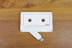 Milktape - USB Cassette Tape by Milktape Mixtape Co. on The Bazaar