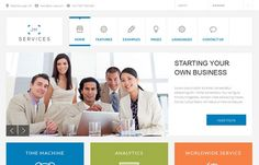 Jm Services - #Free #multipurpose #Joomla template with powerful EF4 #framework.