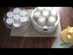 YOGURT casero cremoso con la yogurtera Moulinex. Receta de yogur. - YouTube