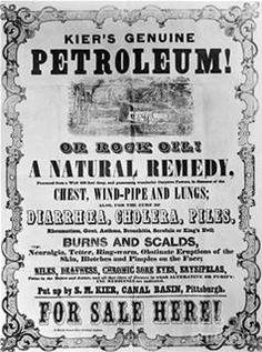 Kier's Genuine Petroleum.