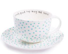 polka dot cup....SO cute