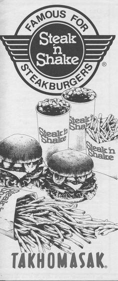 Steak 'n Shake!!!!!!!!!!!!!!!!!!!!!!!!! Craving that brownie milkshake!!!!!!!!!!!!!!! =D