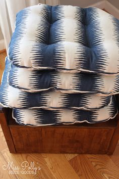Custom Chair Cushions/ Seat Cushions/Ottoman Cushion/ Glider Replacement Cushions Glider Replacement Cushions, Glider Rocker Cushions, Glider And Ottoman, Rocking Chair Cushions, Dining Chair Cushions, Floor Cushions, Seat Cushions, Dining Chairs, Dining Room