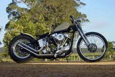 Machine is an Australian custom shop that caught our eye last month with a delicious Norton Atlas custom. And now the owner of Machine, Matt, has just put his 1948 Harley EL up for sale. It's one of the earliest 61ci Panheads, with the new… Read more »