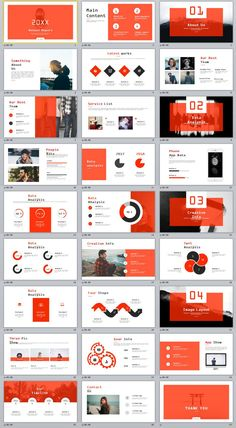 27+ Red Annual analysis report PowerPoint template