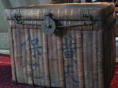Old Chinese basket