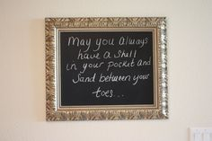 How to Paint Frame Glass and Turn it into a Chalkboard {The Creativity Exchange}