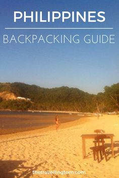Backpacking in the Philippines is something that I believe everyone should do! There's so many things to do in the Philippines that you can travel here for months and not see everything! Check out my travel guide to the Philippines for more info!