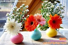 Handmade Thursday: DIY Spring Vases