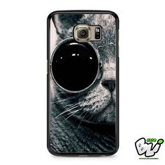 Cat With Sun Glass Samsung Galaxy S7 Case