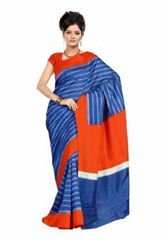 Fabdeal Indian Designer Raw Silk Blue Printed Saree Fabdeal, http://www.amazon.de/dp/B00INWQOFW/ref=cm_sw_r_pi_dp_iE8otb139BMZX