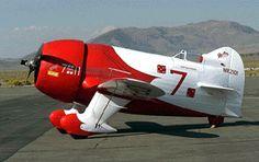 Gee Bee racing plane.... sweet
