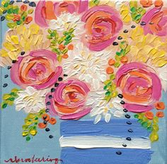 """""""Party Flowers"""" – C. Brooke Ring"""