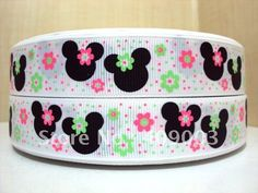 Aliexpress.com : Buy kerry ribbon free shipping 7/8 '' minnie printed ribbon Grosgrain ribbon whole sale and OEM from Reliable ribbon suppliers on Kerry zh's store
