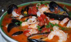 Рецепт морепродукты в соусе