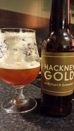 Hackney Gold By Hackney Brewery #craftbeer