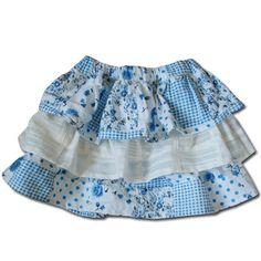 Heart pattern free download (three-stage ruffle skirt) - handmade (Handicraft & Gourmet new mother)