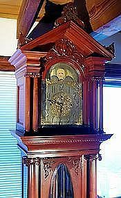 Tiffany & Co Durfee grandfather clock 9 tubes Grandfather Clocks, Tiffany, Antiques, Ebay, Vintage, Style, Antiquities, Swag, Antique