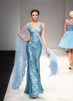 eDressit 2013 S/S Fashion Show Sexy Blue Evening Dress Prom Gown (F00133432) - EUR 1,999.99