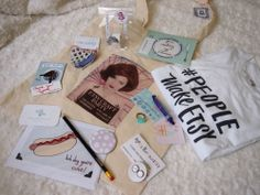 Etsy Craft Party Goody Bag!  Enter to win at www.vividplease.me Etsy Craft Party Blog Post by Alley Hope #EETCraft