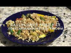 Cauliflower Fried Rice | VEGETARIANRECIPECENTER.COM