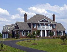 Plan W32526WP: Premium Collection, Photo Gallery, Georgian, Luxury, Traditional, Corner Lot House Plans & Home Designs