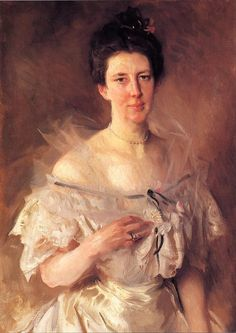 The Athenaeum - Mrs. Gardiner Greene Hammond (Esther Fiske Hammond) (John Singer Sargent - ) 1903