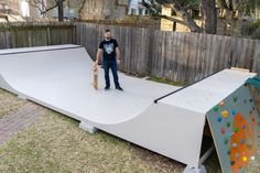 How to Make a Mini Ramp (DIY Halfpipe) : 12 Steps (with Pictures) - Instructables Mini Skate, Skate Ramp, Backyard Projects, Outdoor Projects, Backyard Ideas, Scooter Ramps, Scooter Scooter, Backyard Skatepark, Mini Ramp