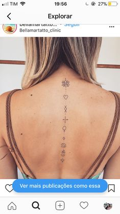 Placement only - Amor Tattoo, Lotusblume Tattoo, Brush Tattoo, Tattoo Hals, Back Tattoo, Spine Tattoos, Arrow Tattoos, Body Art Tattoos, New Tattoos