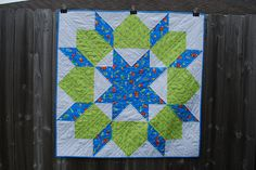Karamat: Mega Swoon Baby Quilt - Make an entire quilt from one block!