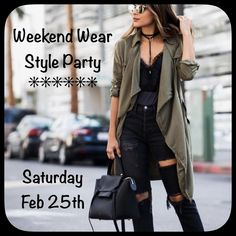 ✨Hosting my 2nd Posh Party!✨ Hey ladies! Save the date! Friday February 25th I will be hosting my second Posh Party! Theme is weekend wear.  Pls comment or tag anyone who has never had a host pick before. Looking forward to partying with you all and my other fabulous co-hosts! Other