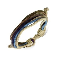 Hey, I found this really awesome Etsy listing at https://www.etsy.com/listing/221385201/unisex-multi-color-wrap-rope-surfer