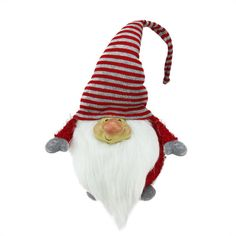 <div>Add some mystical enchantment to your holiday decor with this charming gnome. This long bea...