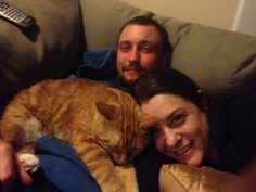 Ron, Jess & Marvin Hug Your Cat Day, Cats, Animals, Gatos, Animaux, Animales, Cat, Kitty, Animal