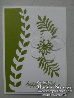 Received my Birthday Card from Shannon West at Stampin'Up!... - Stamp With Bee