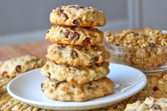 Organic Fruit & Nut Granola Cookies for Earth Day