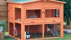 Resultado de imagen para como hacer casas de conejos