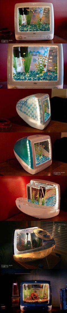 Le Mac ce n'est pas juste un ordinateur c'est aussi un aquarium !