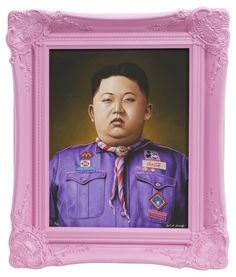 Scott Scheidly, Kim Jong Un, 2014 on Paddle8